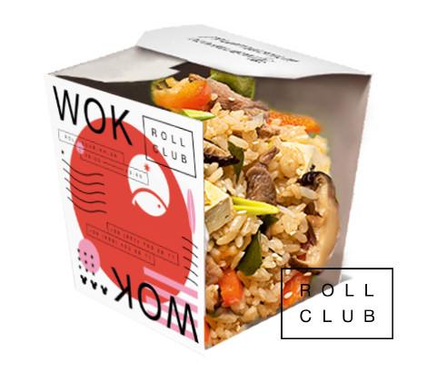 Рис с говядиной и овощами под соусом терияки заказать